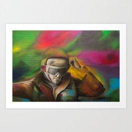 G POWER Art Print