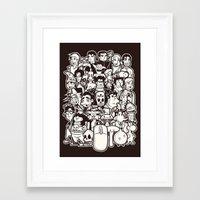 discworld Framed Art Prints featuring Point and Click  by Hoborobo