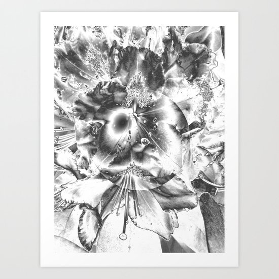 It's life in black and white Art Print