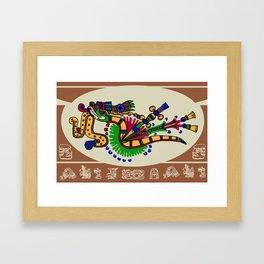 Quetzalcoatl II Framed Art Print