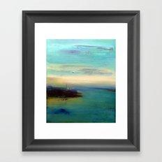 dream of sea Framed Art Print