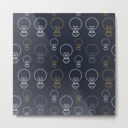 Creative Bulbs Metal Print