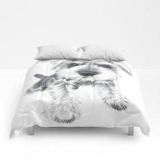Schnozz the Schnauzer Comforters