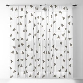 Euplagia quadripunctaria Sheer Curtain