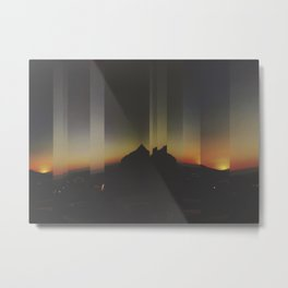 Fragmental Metal Print