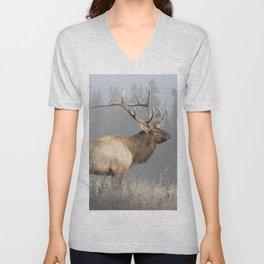 Bull Elk One Unisex V-Neck