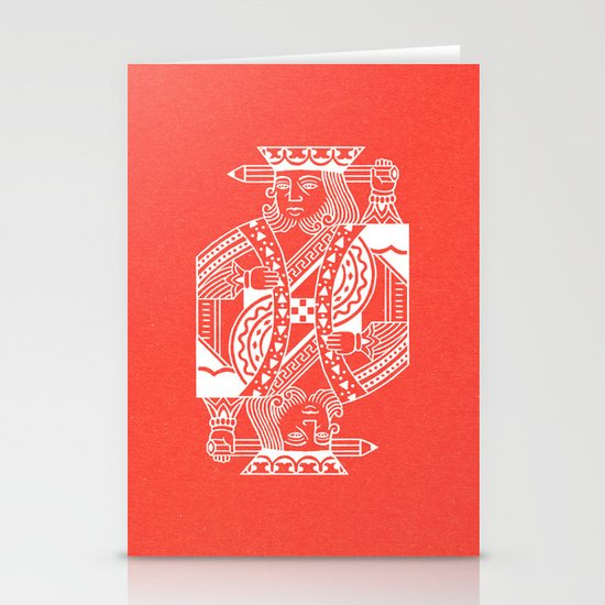 Creativity Is King Stationery Cards