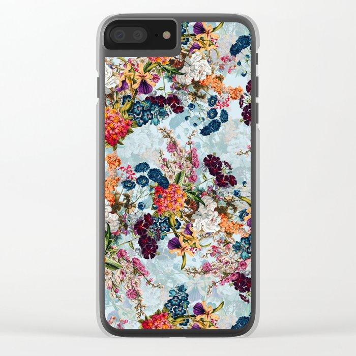 Summer Botanical Garden VIII Clear iPhone Case