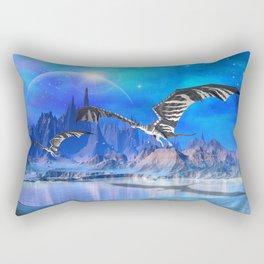Fantasy Dragons Rectangular Pillow