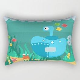 SUBMARINE (AQUATIC VEHICLES) Rectangular Pillow