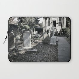 'Til death do us part - B&W Laptop Sleeve