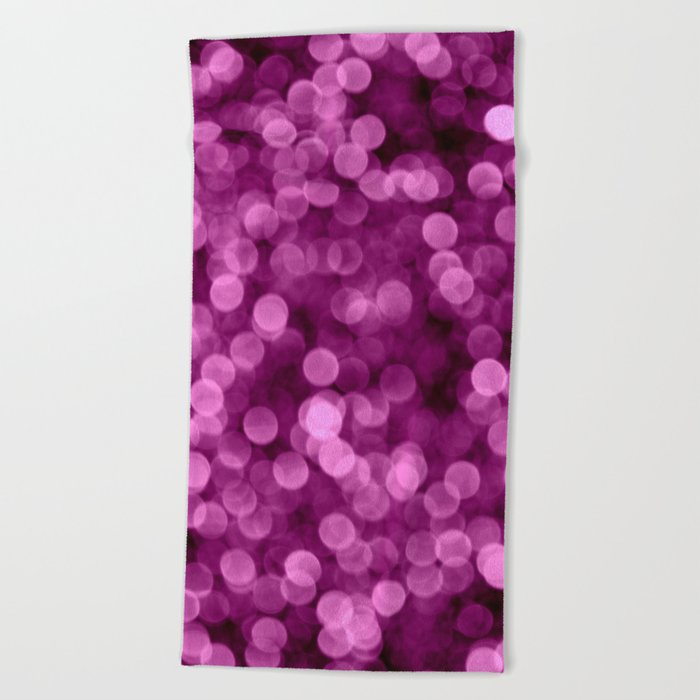 Purple Scrub  - JUSTART © Beach Towel