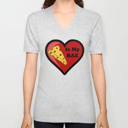 Cheese Is My BAE Unisex V-Neck