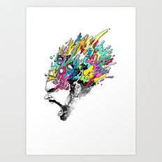 INKS'PLOSION Art Print