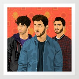 JoBro Love Art Print