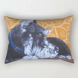 Remmington Schnauzer Rectangular Pillow