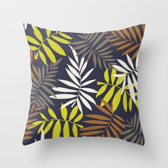 Tropical fell II Throw Pillow