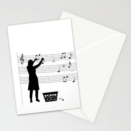 making more music Stationery Cards