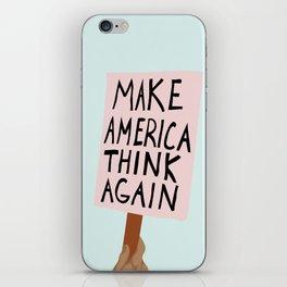 Make America Think Again iPhone Skin