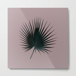 Palm Leaf Edition Metal Print