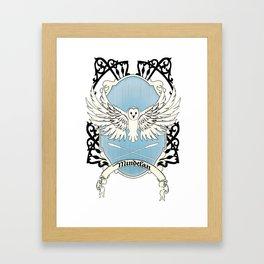 Mindelan Crest Framed Art Print