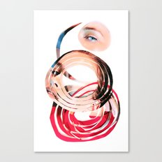 Her Mind is Lovely Canvas Print