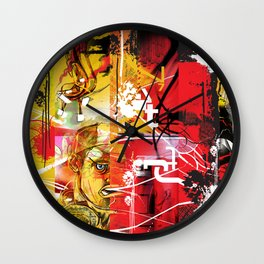 Exquisite Corpse: Round 3 Wall Clock