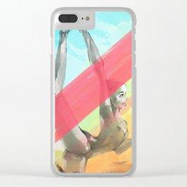 Ghost Ballerina Clear iPhone Case