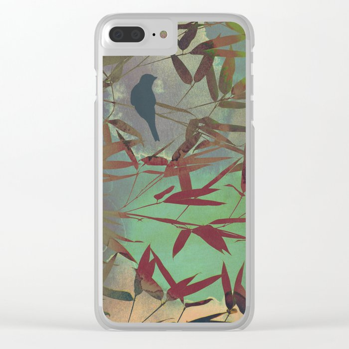 in the bamboo forest Clear iPhone Case