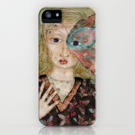 Butterfly Fae iPhone Case
