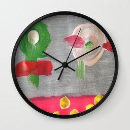 Mother & Daughter Wall Clock