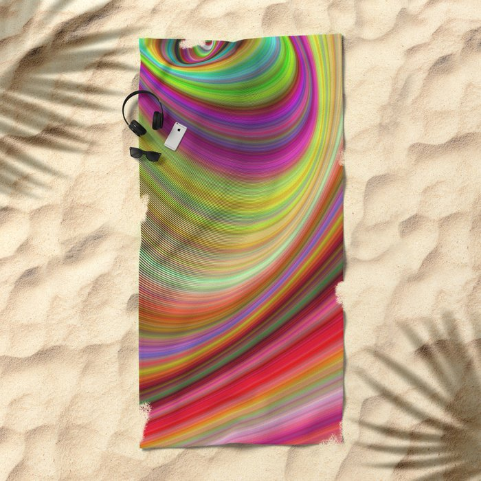 Illusion Beach Towel