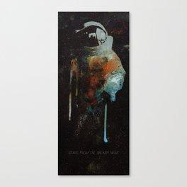 Cowboy Bebop Cosmonaut Canvas Print