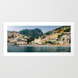 Positano Panorama Art Print