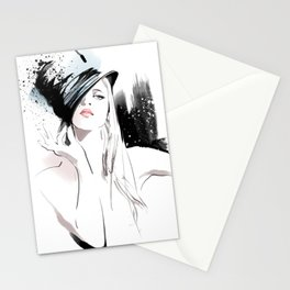 Fashion Painting #5 Stationery Cards