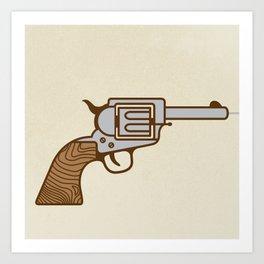 Bang! Art Print