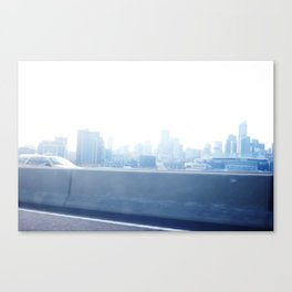 Blue Metropolis  Canvas Print