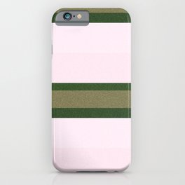 Pink Roses in Anzures 2 Stripes 3H iPhone Case