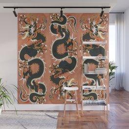 Sun Snake Wall Mural