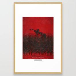 Walk Amongst the Rows: ISU vs TTU 10/21/17 Framed Art Print