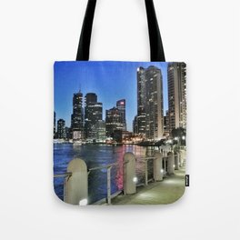 Brisbane River Walk Tote Bag
