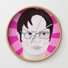 Dwight Wall Clock
