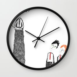 Trouble Wall Clock