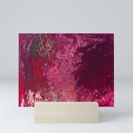 Pooling Mini Art Print
