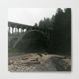 Unknown Bridge Metal Print