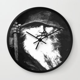 Scandinavian Mythology the Ancient God Odin Wall Clock