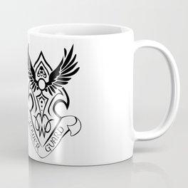 Tower Guard Shield (Black) Coffee Mug