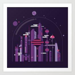 World of Tomorrow Art Print
