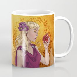 Goddess of the Dead, or Persephone holding a pomegranate Coffee Mug