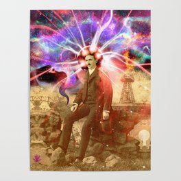 Electric Scientist Poster